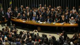 Brasília - O deputado Rodrigo Maia (DEM-RJ) foi eleito presidente da Câmara dos Deputados, com 285 votos. (Fabio Rodrigues Pozzebom/Agência Brasil)