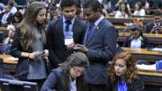 Jovens participam de trabalhos na 13ª edição do PJB, no ano passado (Foto: Alex Ferreira/Ag Câmara)