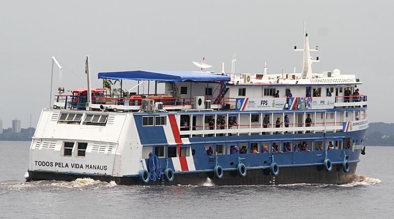 Barco PAI (Foto: Ismael Neves/Secom)