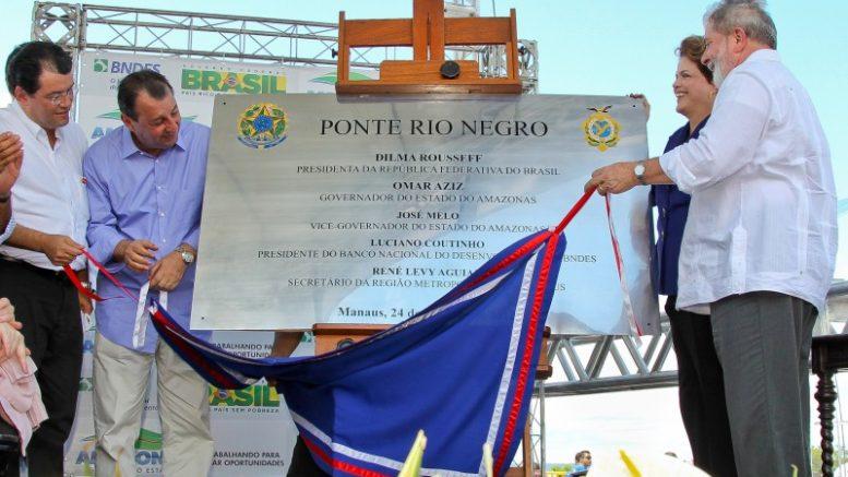 Manaus - AM, 24/10/2011. Presidenta Dilma Rousseff participa da cerimônia de inauguração da ponte sobre o Rio Negro. Foto: Roberto Stuckert Filho/PR.