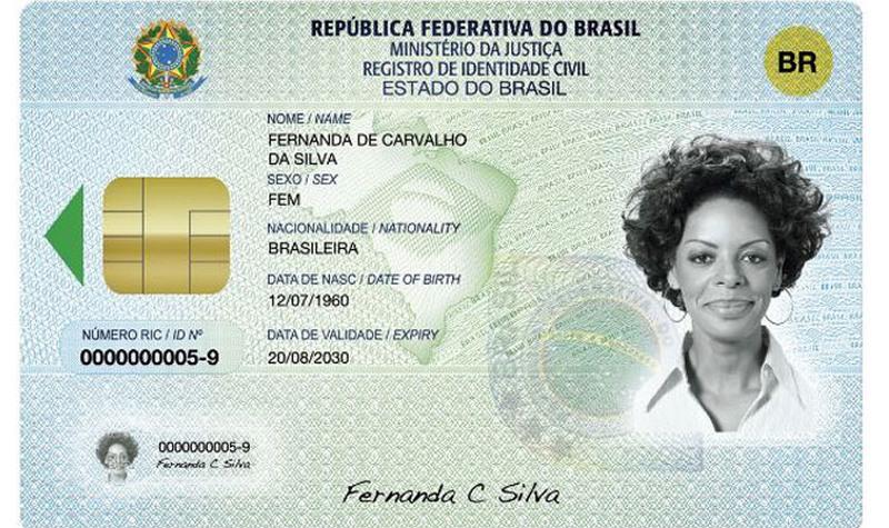 DIN nova identidade (Foto: ABr/Agência Brasil)