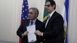 Flávio Pascarelli e Rafael Barbosa DPE (Foto: Raphael Alves/TJAM)