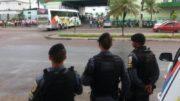 Garagem Eucatur greve geral (Foto: Divulgação)