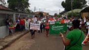 Iranduba greve geral (Foto: Divulgação)