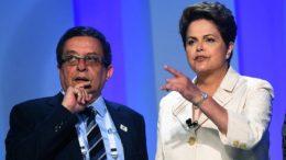 João Santana e Dilma (Foto: ABr/Agência Brasil)