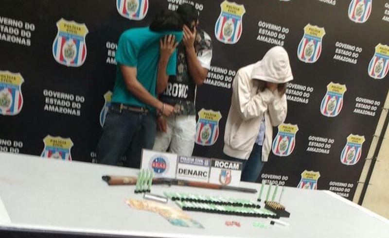 Facilidade de contato com as drogas influencia jovens a aderir no crime