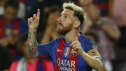 Messi marcou gol da vitória no último minuto de jogo e Barcelona encostou no Real Madrid (Foto: YouTube/Reprodução)