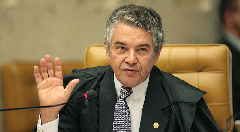 Marco Aurélio diz que guerra de decisões sobre entrevista de Lula é 'autofagia'