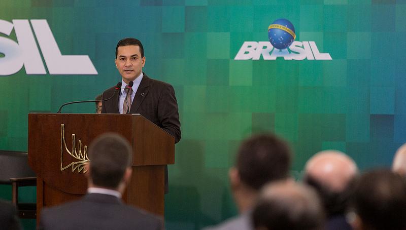 O ministro Marcos Pereira quer o empresariado empenhado para aprovação da Reforma da Previdência (Foto: Washington Costa/Mdic)