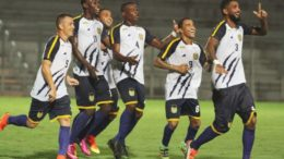 Nacional time gol (Foto: Antônio Assis/FAF/Divulgação)