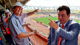 Omar Aziz e Eduardo Braga, que estavam juntos em 2010, agora jogam em lados opostos e são os principais nomes para a disputa pelo Governo do Amazonas em 2018