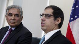 Pascarelli e Rafael Barbosa (Foto: Raphael Alves/TJAM)