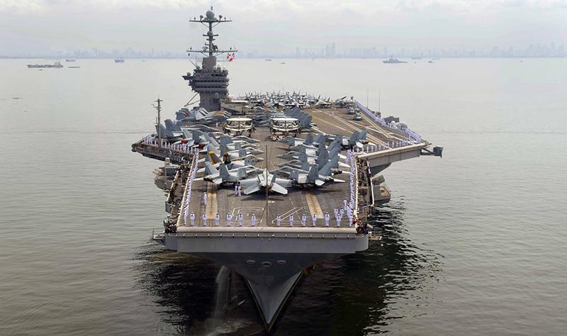 Porta-Aviões-USS-George-Washington-CVN-73-foto-USN
