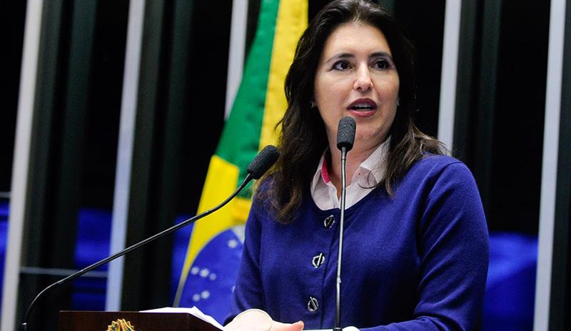 Após atrito com Renan, senadora Simone Tebet diz que deve deixar MDB