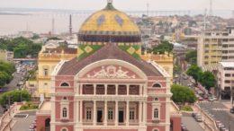 Teatro Amazonas (Foto: Carla Lima/SEC/Divulgação)