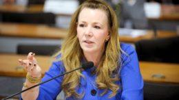 A senadora Vanessa Grazziotin diz que não recebeu dinheiro de caixa 2 para a campanha eleitoral de 2012 (Foto: Marcos Oliveira/Ag Senado)