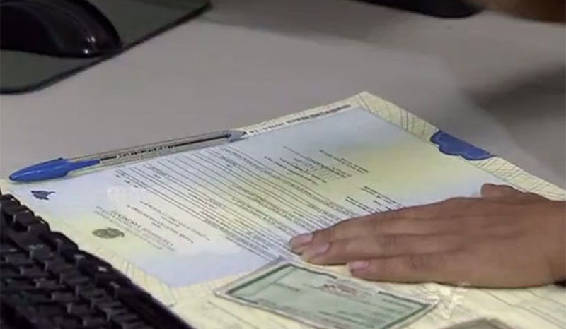 Certidões de Nascimento com CPF começam a ser emitidos pelo 8° Ofício de Registro Civil (Foto: Reprodução)