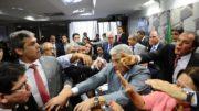 Confusão CAE Senado Federal (Foto: Marcos Oliveira/Agência Senado)
