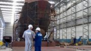 Construção naval (Foto: Uninavali/Divulgação)