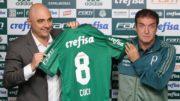 Cuca Palmeiras (Foto: Cesar Greco/Palmeiras/Divulgação)
