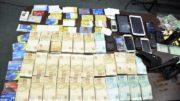 Dinheiro tráfico Manaus (Foto: Erlon Rodrigues/PC-M/Divulgação)