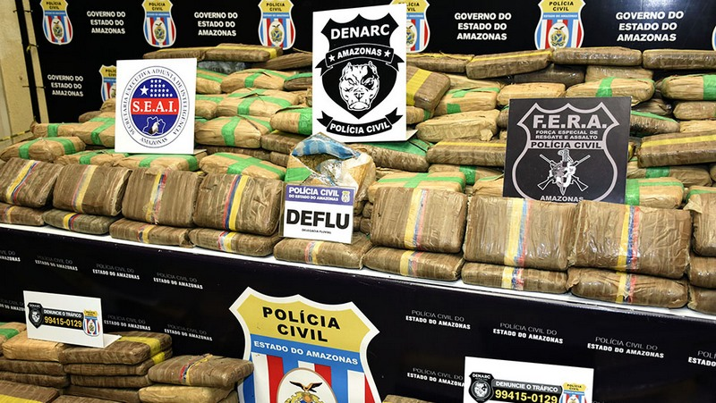 Droga maconha skunk (Foto Erlon Rodrigues/PC-AM)