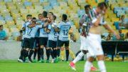 Grêmio x Flu (Foto: Lucas Uebel/ Grêmio FBPA)