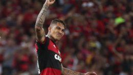 Guerrero campeão Flamengo (Foto: Gilvan de Souza/Flamengo)