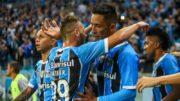 Lucas Barrios (Fotos: Lucas Uebel/Grêmio FBPA)