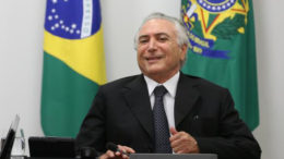 Michel Temer tentou incluir advogado em disputa judicial contra JBS (ABr/Agência Brasil)