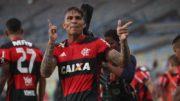 Paolo Guerrero (Foto: Gilvan de Souza/Flamengo)