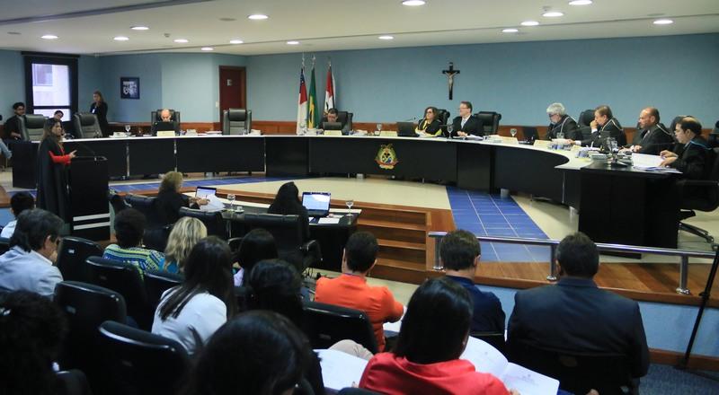 Plenário TCE-AM (Foto: Ana Cláudia Jatahy/TCE-AM)