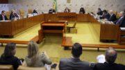 STF plenário (Foto: Wilson Dias/ABr)