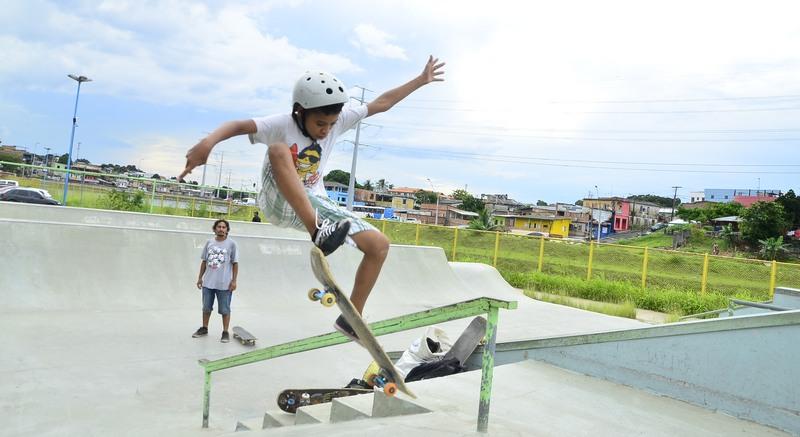 Skate infantil (Foto: Mauro Neto/Sejel/Divulgação)