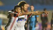 Everton e William Arão Flamengo (Foto: Gilvan de Souza/Flamengo/Divulgação)