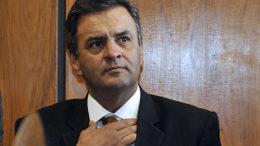 Brasilia - O senador eleito Aécio Neves (PSDB-MG) reune- se com a lideranca do Psdb na camara dos deputados (José Cruz/Agência Brasil)