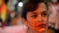 Rio de Janeiro - Diversas entidades e grupos do movimento feminista participam da Marcha Mundial das Mulheres, pela igualdade de gêneros e combate à violência, no centro da cidade (Fernando Frazão/ABr)