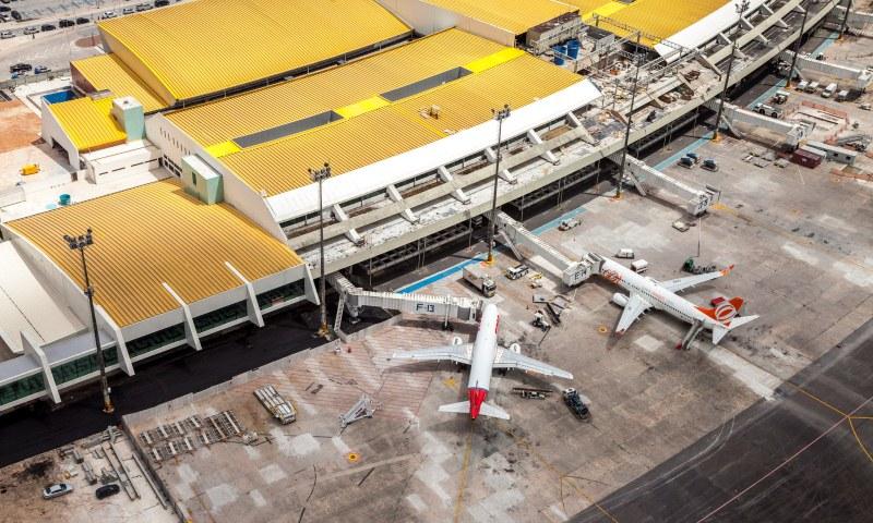 Controle aduaneiro noturno no Eduardo Gomes será feito em um dia por semana
