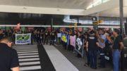 Aeroportuários alegam que privatização pode afetar patrimônio público (Foto: Divulgação)