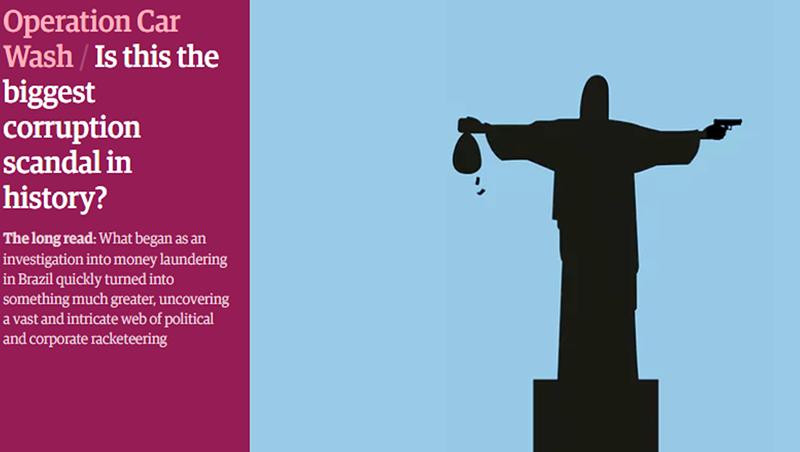 aa53e1d9450 Ilustração de Cristo armado é  ofensa  ao Brasil