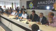 David Almeida diz que não apoiará Amazonino (Foto: Valmir Lima)