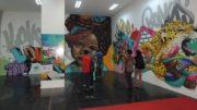Jungle Colors exibe painéis e trabalho em graffiti e inclui cursos (Foto: Divulgação)