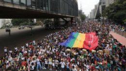 Parada gay em São Paulo atrai grandes empresas (Foto: Paulo Pinto/Fotos Públicas)