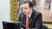 Rodrigo Pacheco preside a CCJ, sendo o único membro que não pode ser substituído e questionado pela escolha do relator (Foto: Alex Ferreira/Agência Câmara)