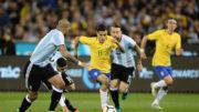 Seleção melhorou no segundo tempo, mas não conseguiu marcar gol (Foto; Lucas Figueiredo/CBF)