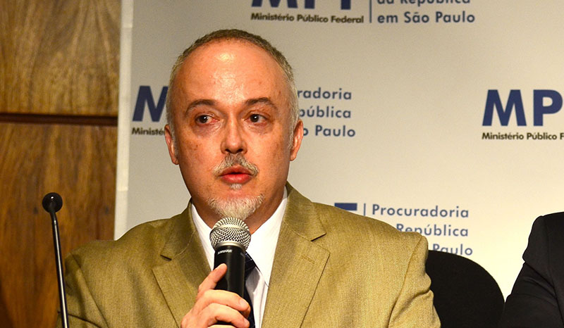 Carlos Fernando dos Santos criticou redução da Lava Jato, o que pode prejudicar as investigações (Foto: Rovena Rosa/Agência Brasil)