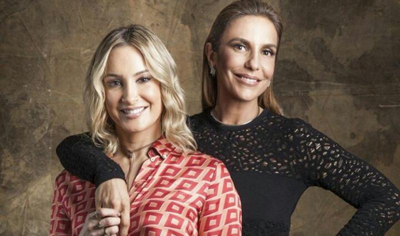 'Veveta vai apertar o botão no The Voice Brasil e Claudinha vai se emocionar com as fofuras do The Voice Kids', diz o post (Foto: Instagram/Divulgação)