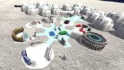 ARQUIVO 06/06/2017 METROPOLE / Fotos mostram como será a colônia para astronautas na Lua, conforme o projeto de estudantes da Faculdade de Engenharia de Sorocaba. (Foto: André Carneiro/Facens)