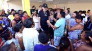 Índios Warao pediram ajuda ao ministro Torquato Jardim (Foto: Valdo Leão/Secom)