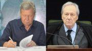 Arthur Virgílio e Ricardo Lewandowski